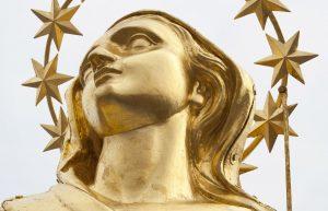 Restauro conservativo Madonnina del Duomo di Milano